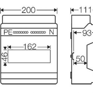tủ điện nhựa kv7109