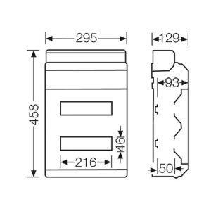 Kích thước tủ KV 8224 M